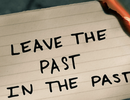 Stop brooding about the past….it doesn't help!